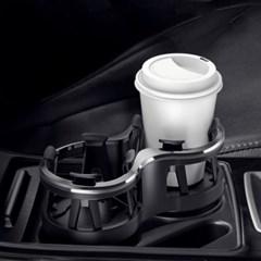 차량용 더블 멀티 와이드 컵홀더 (2in1)