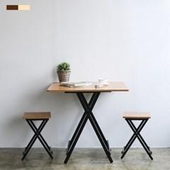 까사마루 오드리 접이식 테이블 세트 (리퍼)