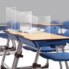 코로나 PET 페트 가림막 학교 카페 식당 도서관 학원 칸막이