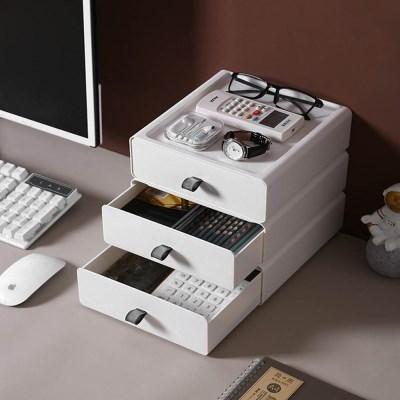 책상 미니서랍 사무용품 데스크 서랍정리함 실리콘 그립 적층서랍