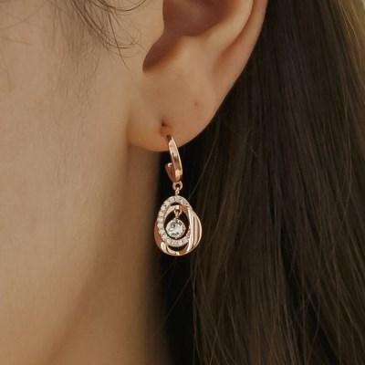 예노 비앙카 귀걸이0389(스와로브스키크리스탈사용)