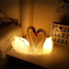 스위트 스완 LED 수면 램프 2종 세트