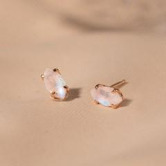 [윙블링][925실버][천연석] 은은하게 빛나는 오델리 귀걸이