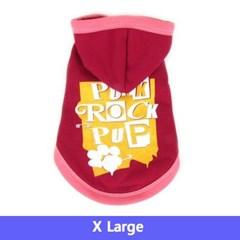 주주펫 강아지 옷 펑크락 Red XL