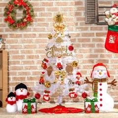 120cm 산타선물 화이트 트리 풀세트/크리스마스트리