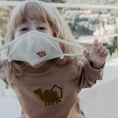 [꼬까참새] 유아동 오가닉 면 마스크