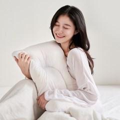 백테라피 꿀잠 씨리얼베개 메모리폼 경추 베개 단품(커_(1370427)