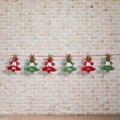 크리스마스 데코 가랜드/트리장식 크리스마스줄장식