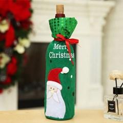 크리스마스 산타 와인커버/ 플레이팅 와인병커버