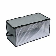 홈슨 투명창 부직포 옷정리함 / 접이식 리빙박스