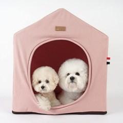 [11월초생산입고] 강아지하우스 A하우스 핑크 set_(1266484)