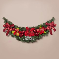 120cm 레드 크리스마스 가렌드/DIY가렌드 트리장식