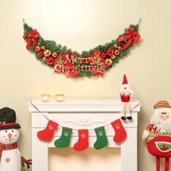 140cm 미라클 크리스마스 가랜드/성탄절 장식품 트리