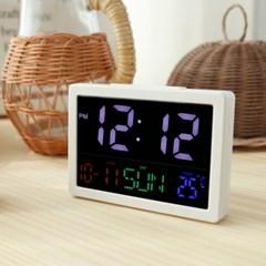 티메이드 빅패널 LED 탁상시계/시간/날짜/요일/온도표시