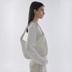 [포이어] 2Way Eco Hobo Bag Ivory