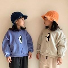 블) 펭귄 아동 맨투맨