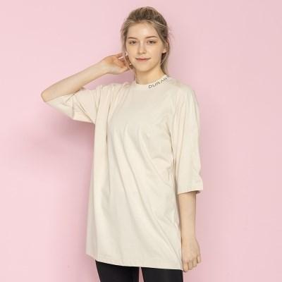 플라이 오버핏 7부 티셔츠 DTF0W-4075 3colors