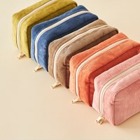 DAY MAKE-UP POUCH _ CORDUROY