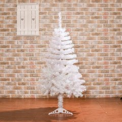 120cm 화이트 중급 크리스마스 트리 성탄트리