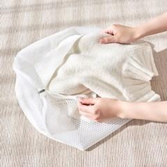[바이홈] 무형광 세탁망 - 니트셔츠용 2P