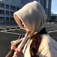윌리 니트 후드 귀달이 겨울 털모자 니트모자_(2492447)