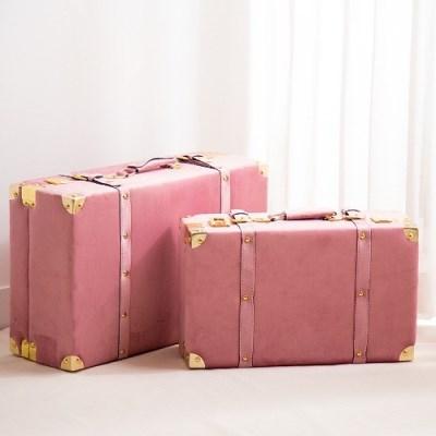핑크 벨벳 가방