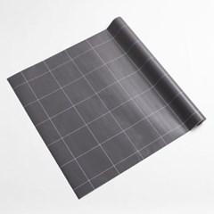 격자무늬 셀프도배 벽 시트지(3M) (그레이)