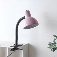 NEW 핑크 레트로 크랩 램프(집게등)