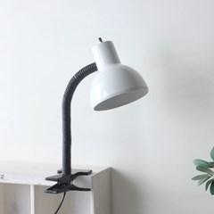 NEW 화이트 레트로 크랩 램프(집게등)