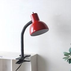 NEW 레드 레트로 크랩 램프(집게등)