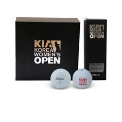 기아 한국 여자 오픈 골프공 (9구) 세트