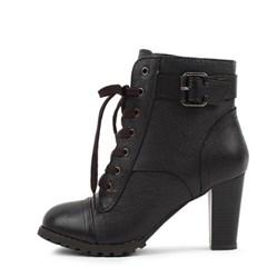 kami et muse Leather ankle walker heel_KM20w125