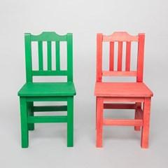 우드 미니 의자