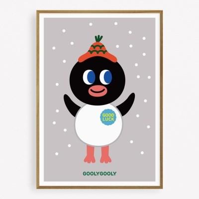 굴리굴리 포스터 / PENGI SNOW ( 063 )