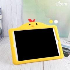 오젬 아이패드8세대 10.2 꼬꼬닭 캐릭터 실리콘 케이스