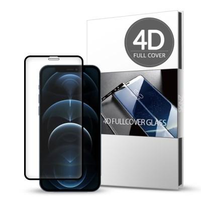 스킨즈 아이폰12프로 4D 풀커버 강화유리 필름 1매_(901233303)