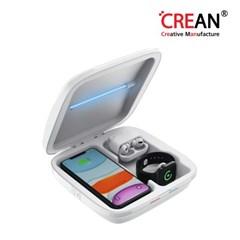 크레앙 애플전용 UV 무선 충전 살균기(CREUVST2)