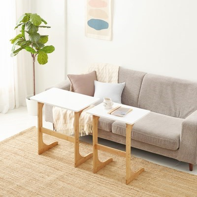 앳홈 밤부 사이드 테이블