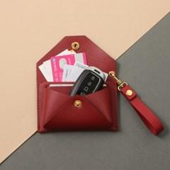 투유 이니셜 카드지갑 스트랩 SET(이니셜각인)