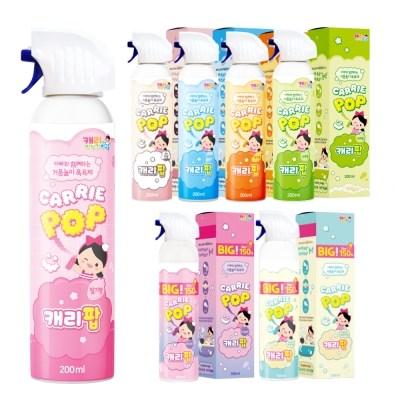 유아 버블클렌저 거품목욕 레인보우 캐리팝 7개_(2432300)