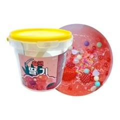 슬라임 만들기 세트 딸기 DIY 액체괴물 액괴만들기_(2427426)