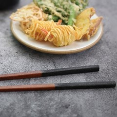 대추나무 옻칠 엔틱 튀김 젓가락
