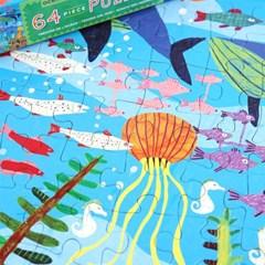 [이부] 바다 보물 64피스 퍼즐 / 5세이상
