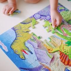 [이부] 공룡섬 64피스 퍼즐 / 5세이상