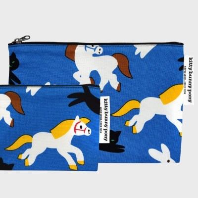 Kittybunnypony Pouch by Virginie Morgand