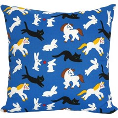 Kittybunnypony Cushion by Virginie Morgand