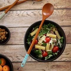 컬러 대추나무 옻칠 샐러드 스푼(색상선택)