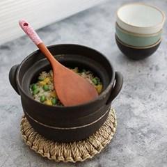 천연 옻칠 컬러 밥주걱(색상선택)