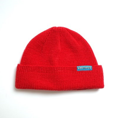 [EZwithPIECE] WATCH CAP (RED)_(401185972)
