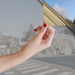 골드반사필름 시선차단 자외선차단 금반사 사생활보호